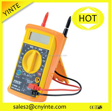 China original manufactuer Lifetime warranty New ABS handled multifunction LCD digital multimeter with CE approved