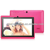 Cheapest! 7inch Allwinner A13 tablet PC Android4.2.2 Camera 512MB RAM 512MB ROM Multi Point Touch capacitive screen