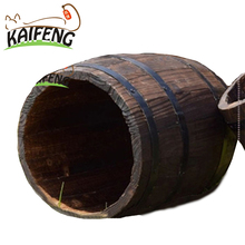 High Quality Decoration Decorative Garden/ Beer Wooden Wine Barrel