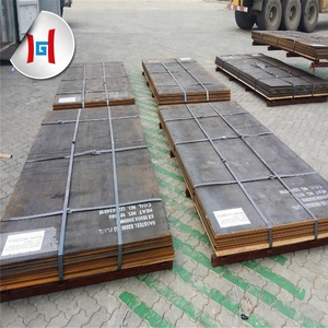 Hot rolled technique and 3mm-50mm thickness S355 weathering resistant steel plate
