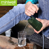 miniwell portable water filter for disaster equipment