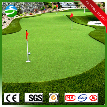 Indoor Fake Sod Golf Putting Green Mini Golf Turf Artificial Grass ...