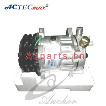 Whole Top Quality 709 R404a Sd7l15 8252 12 24 Volt Air Conditioner Compressor