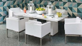 Witte Rieten Stoel : Hedendaagse thuisgebruik wit goedkope outdoor eethoek rieten stoel