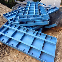 World Manufacture Reusable Steel Formwork Panel High Performance Metal Formwork For Building