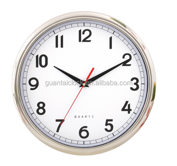 Cheap Price Color Frame Wall Clock Plastic With Pvc Dial For Decor