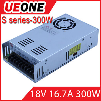 Light Weight 300w Single 18v 300w Ac/dc Switching Power Supply ...