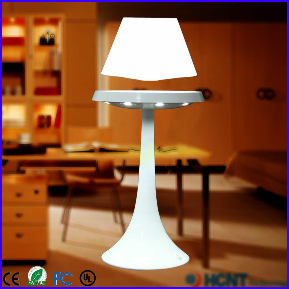 led lampe de lecture lumi re flottante bureau lit lampe avec aimant lampe de table et de lecture. Black Bedroom Furniture Sets. Home Design Ideas