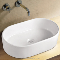 ceramic outdoor oval wash basin table