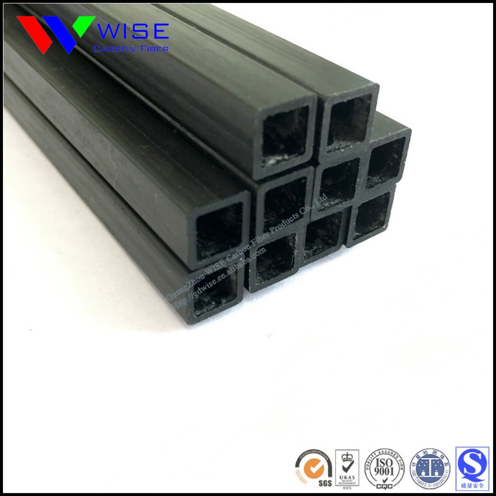 Supply Pultruded Carbon Fiber Square Tube Pipes With Cnc