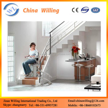 Curved Handicap Lift Machine / Disabled Person Electric Stair Chair Lift  sc 1 st  Alibaba & Curved Handicap Lift Machine / Disabled Person Electric Stair Chair ...