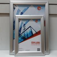 China wholesale high quality good market snapper frame,B2 clip clap frame,poster frame 22x34