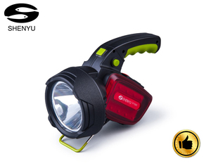 10W ABS 18650 Multi-functional High Power Flashlight LED Emergency Portable Searchlight