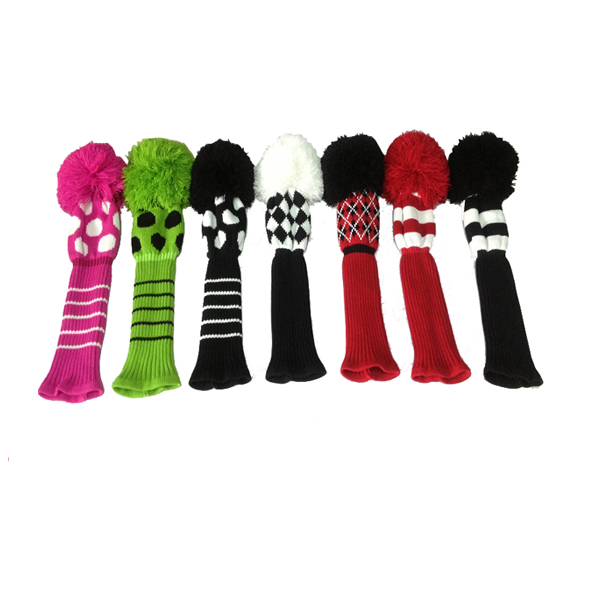 Classic Knit Golf Headcover Sets