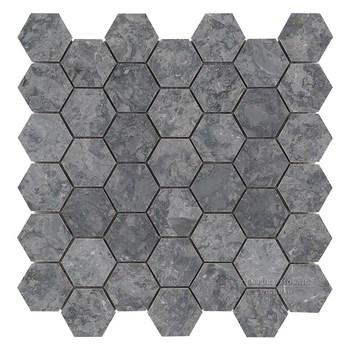 new material babylon gray hexagon mosaic tile for home decoration