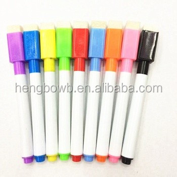 Hot sell magnetic whiteboard different colors marker pen price