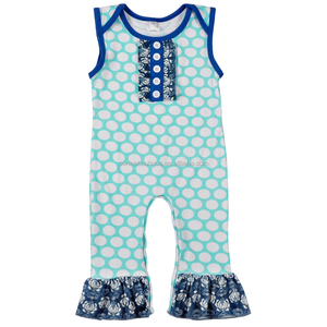 best selling girls rompers polka dots kids clothes baby girls rompers