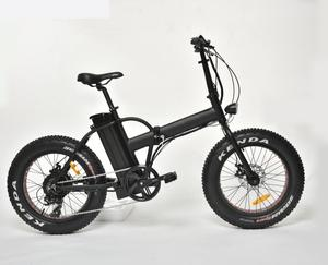 Fashion 20'' fat tire electric bike/ 48v 500w electric mountain bike folded/ foldable