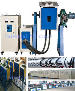 IGBT 100% duty Medium Frequency Iron Scrap Melting Furnace