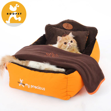 Unique Design Wrapping Dog Indoor Houses Pet Bed