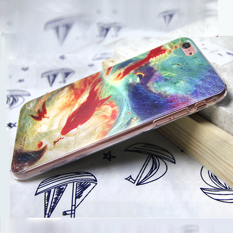 Chinese Big Fish & Begonia phone case for iPhone 4s Chinese OEM New 3D Phone case