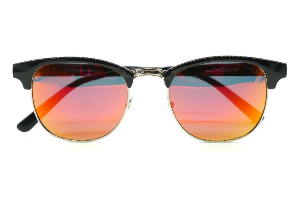 Rimless Clubmaster Glasses : Hot Selling Unisex Semi-rimless Clubmaster Polarized ...