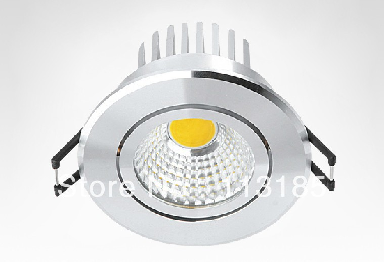 High Quality COB Light Source 3W 5W 7W 10W 12W 15W COB LED Downlights Indoor Application AC220V Free Shipping
