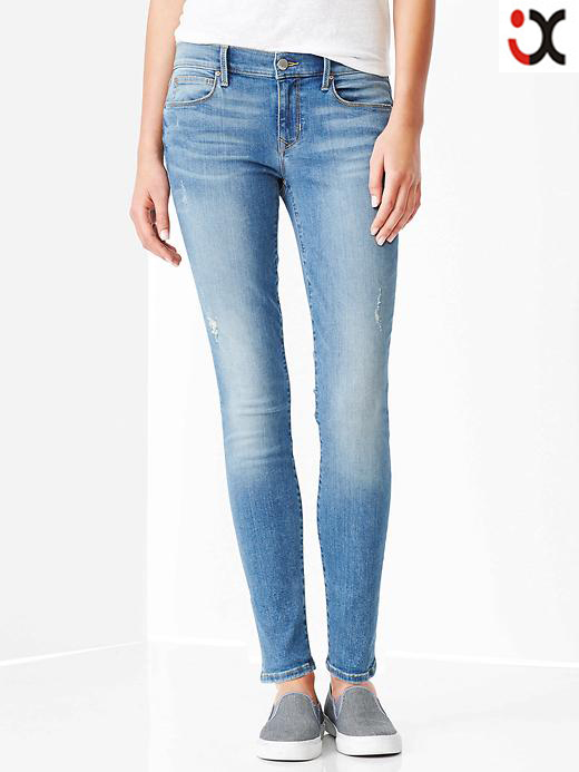 Latest Design Ladies Jeans Pants With Factories In Guangzhoujxh043 ...