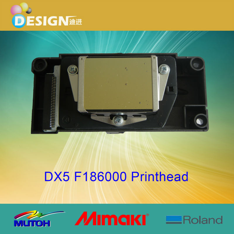 good quality eco solvent based F186000 dx5 print head for inkjet plotter