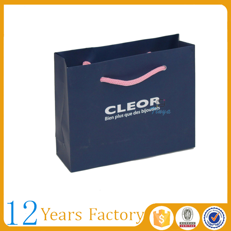 luxury jewellery paper packaging bags manufacturers