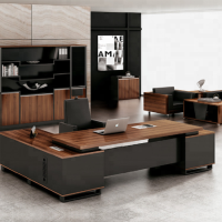 New design office table furniture curved executive desk on sale