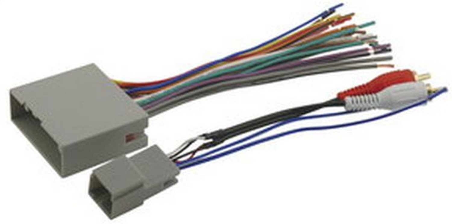 Buy Scosche Fdk11b Wire Harness To Connect An Aftermarket Stereo Electrical Connection Receiver For Select 2004 Up Ford