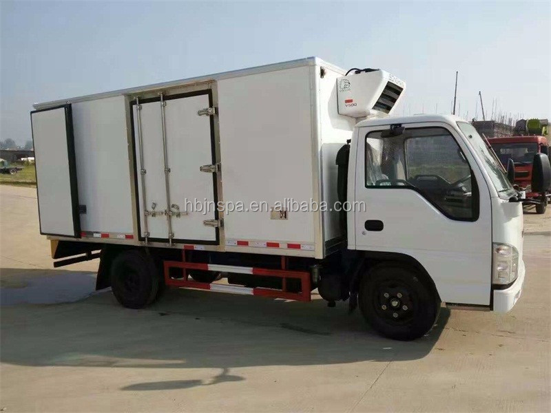 99aa43b78e Yuejin Diesel Engine 2ton Small Refrigerated Truck For Sale - Buy ...
