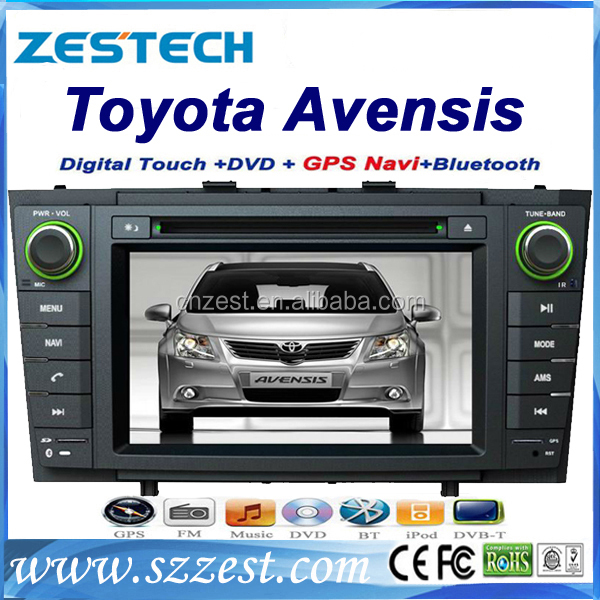 in dash car radio for toyota avensis car radio with dvd gps multimedia