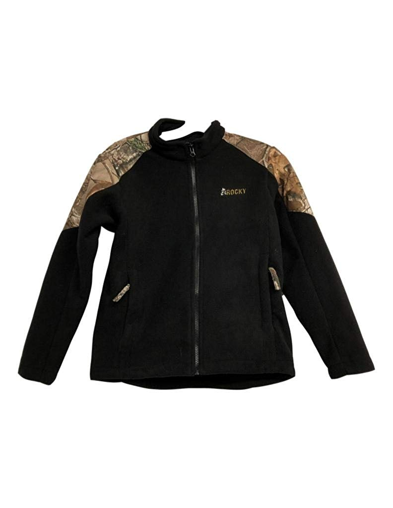 493975a926ee6 Get Quotations · Rocky Outdoor Jacket Boys Full Zip Durable Camo Polyester  LW00196
