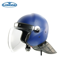 Reasonable price top quality riot control equipment riot helmets blue riot helmets for sale
