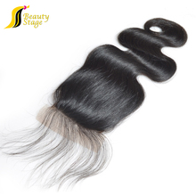 2016 New arrival 6A Body Wave Natural Color Virgin remy Brazilian Hair 2.5*4 magnetic closure gift box free closure