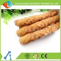 bulk dog chicken wrapped rawhide chew Organic pet food Wholesale