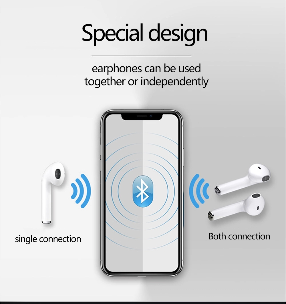 Finger Touch TWS T9 Bluetooth Wireless Earphones