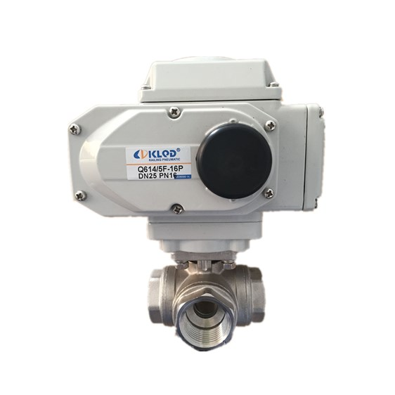 Electric Type Actuator Automatic Electrical Water Float Ball Valve