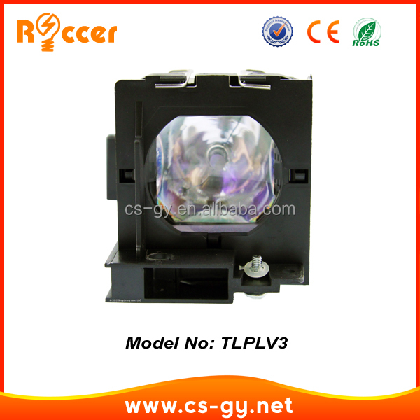 New compatible projector lamp TLPLV3 130W for Toshiba TLP-S10/TLP-S10D/TLP-S10U