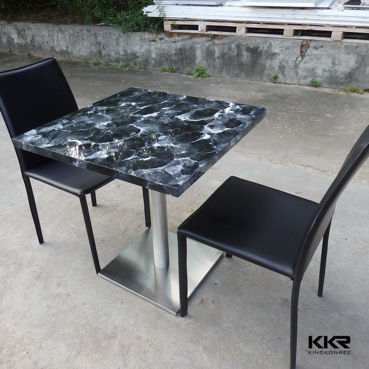 Round Marble Top Coffee TableRound Stone Marble Top Dining Table