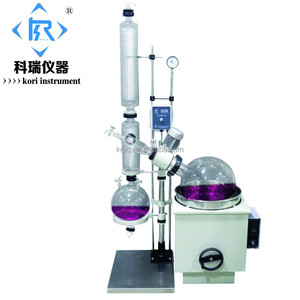 High efficient Vacuum Short Path distillation equipment /Rotary evaporator 20l W heat water bath / Rotavapor chiller