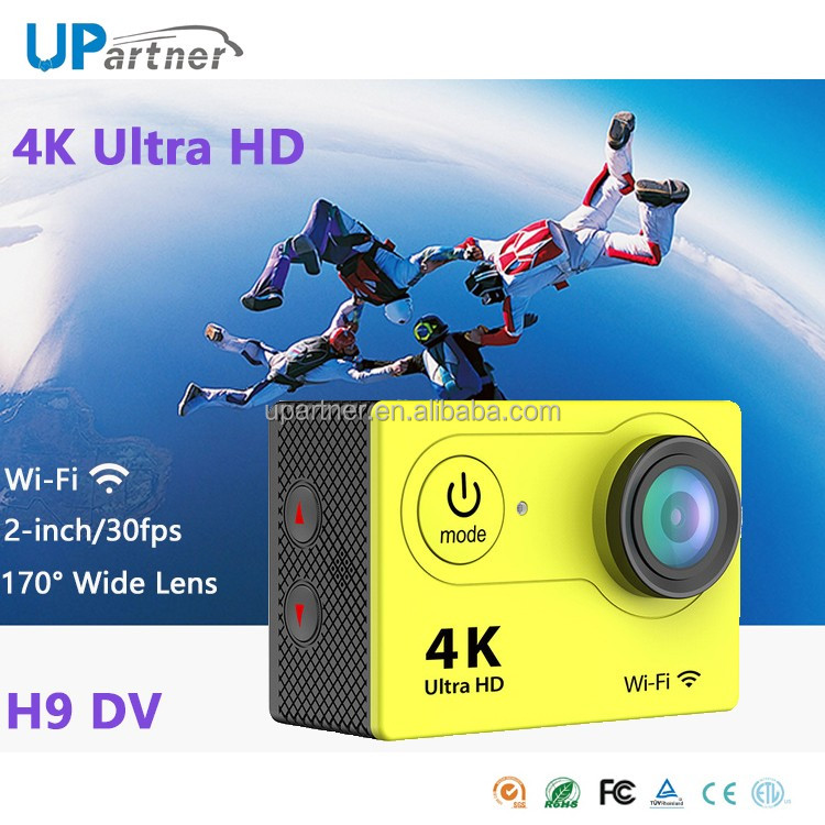2016 hot selling WiFi Sport DV H9 2.0 LCD 30M Waterproof Ultra HD 4K sj8000 sj9000 ld6000 sj4000 sjcam action sport camera