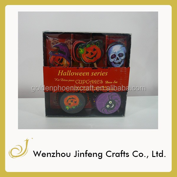 Halloween Paper baking cupcakes paper baking cups