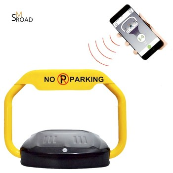 NEWEST BLUETOOTH APP parking space car safety lock remote mobile bluetooth parking barrier