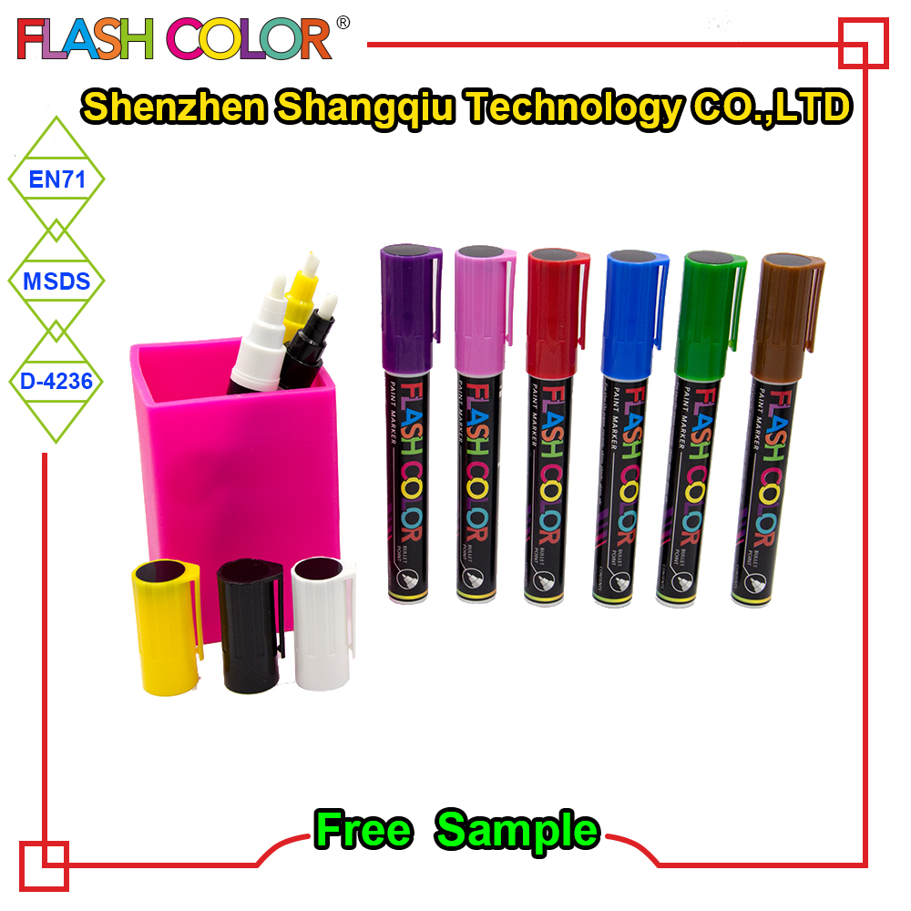 High quality double ends permanent paint whiteboard marker