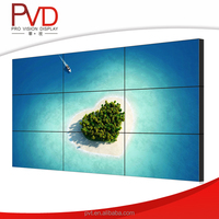 Big Format 47'' Lcd Splicing Screen 3x3 Video Wall