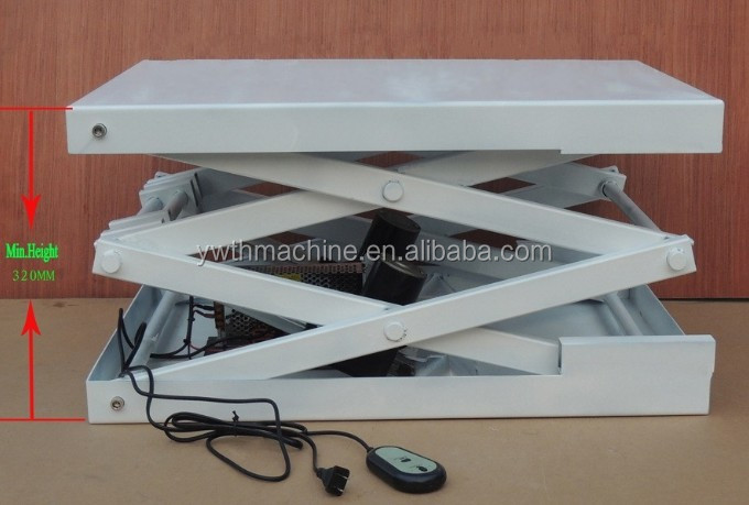 500 700mm Small Electric Scissor Lift Platform Buy Small