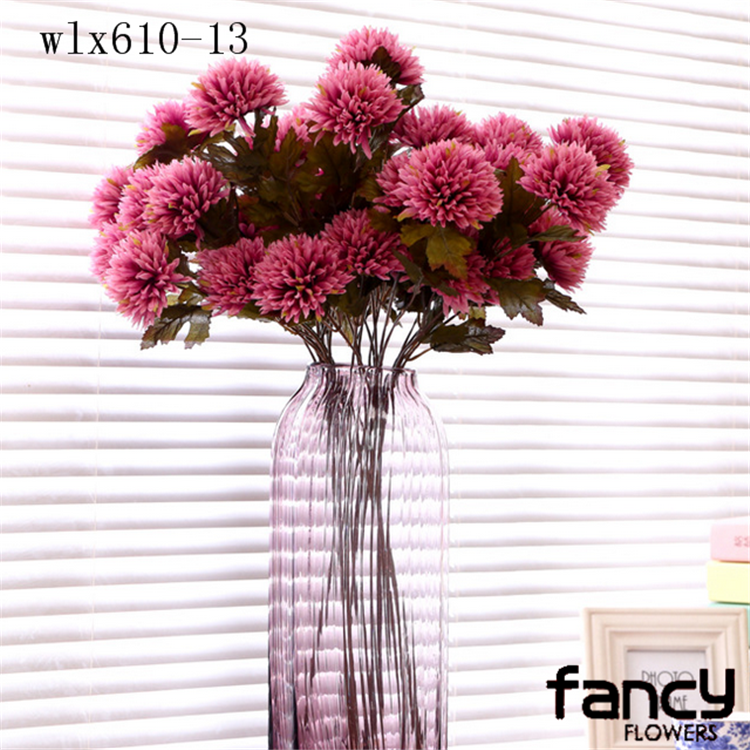 8 Heads China Artificial Daisy Flowers Fabric Flower - Buy Fabric ...